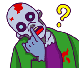 zombie pop sticker #881098