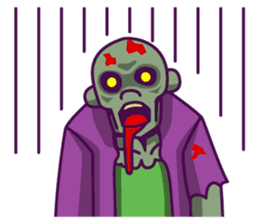 zombie pop sticker #881108