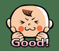 Daddy, please! Cute babies.(Japanese) sticker #881439