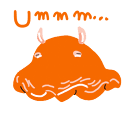Deepsea fish and sealife English version sticker #881764