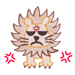 Freehand Animal Stickers (English Ver.)