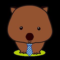 Mr. Wombat's Daily Life-English version