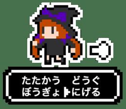 pixel witches sticker #886241