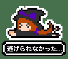 pixel witches sticker #886242