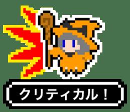 pixel witches sticker #886243