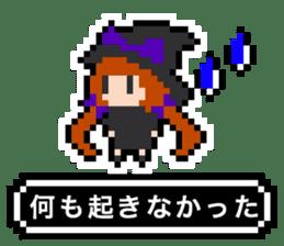 pixel witches sticker #886248