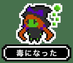 pixel witches sticker #886252