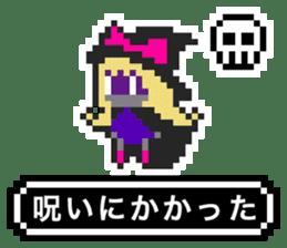 pixel witches sticker #886254