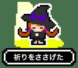pixel witches sticker #886266