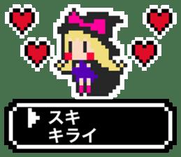 pixel witches sticker #886267