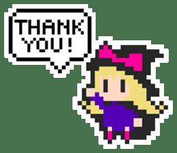 pixel witches sticker #886271