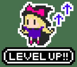 pixel witches sticker #886275
