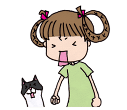 komomo&pon sticker #886740