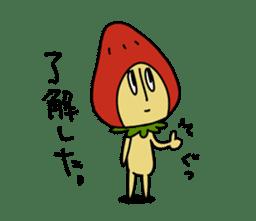 Mr.Strawberry-Taro sticker #887319