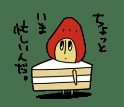 Mr.Strawberry-Taro sticker #887321