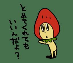 Mr.Strawberry-Taro sticker #887328