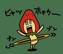 Mr.Strawberry-Taro sticker #887338