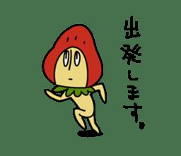 Mr.Strawberry-Taro sticker #887341