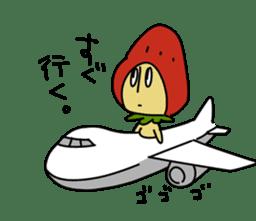 Mr.Strawberry-Taro sticker #887344