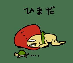 Mr.Strawberry-Taro sticker #887352