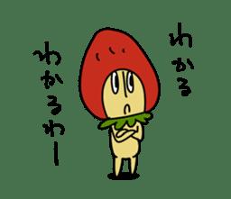 Mr.Strawberry-Taro sticker #887353