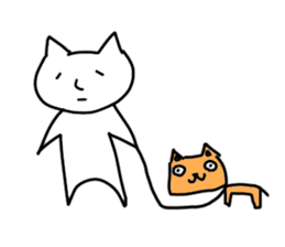 Annoying Dog and Cat sticker #887473