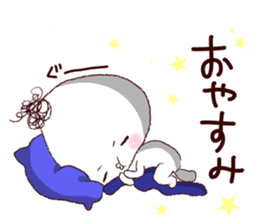Rice ball-kenji sticker #887561