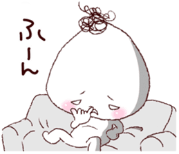 Rice ball-kenji sticker #887587