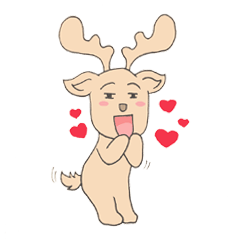 Happy Gay Deer
