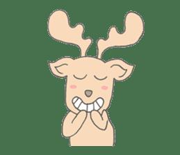 Happy Gay Deer sticker #889601