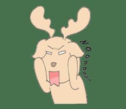 Happy Gay Deer sticker #889612