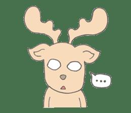 Happy Gay Deer sticker #889614