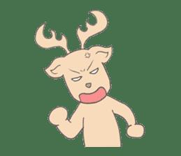 Happy Gay Deer sticker #889615