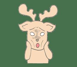 Happy Gay Deer sticker #889616