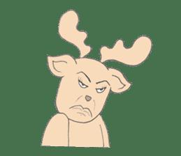 Happy Gay Deer sticker #889617