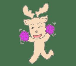 Happy Gay Deer sticker #889619