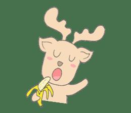 Happy Gay Deer sticker #889620