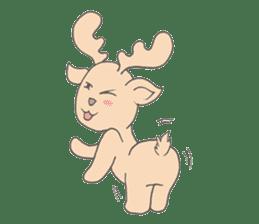 Happy Gay Deer sticker #889628