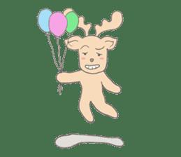 Happy Gay Deer sticker #889637