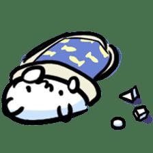 white tabby cat sticker #889743