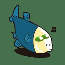 Deep sea fishes sticker #889960