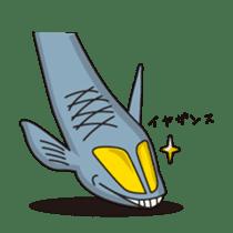 Deep sea fishes sticker #889985