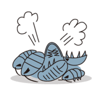 Deep sea fishes sticker #889990