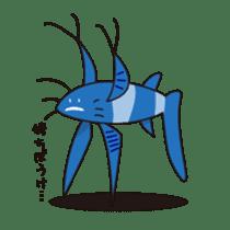 Deep sea fishes sticker #889995