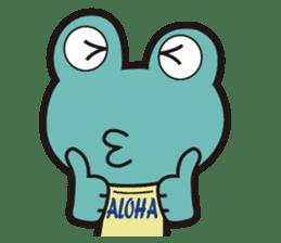 ALOHA FROG sticker #890208