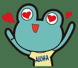 ALOHA FROG sticker #890209