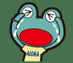 ALOHA FROG sticker #890226
