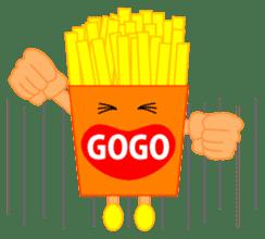 happy potato diary stamp sticker #890639