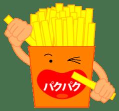 happy potato diary stamp sticker #890641
