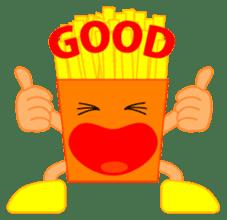 happy potato diary stamp sticker #890645
